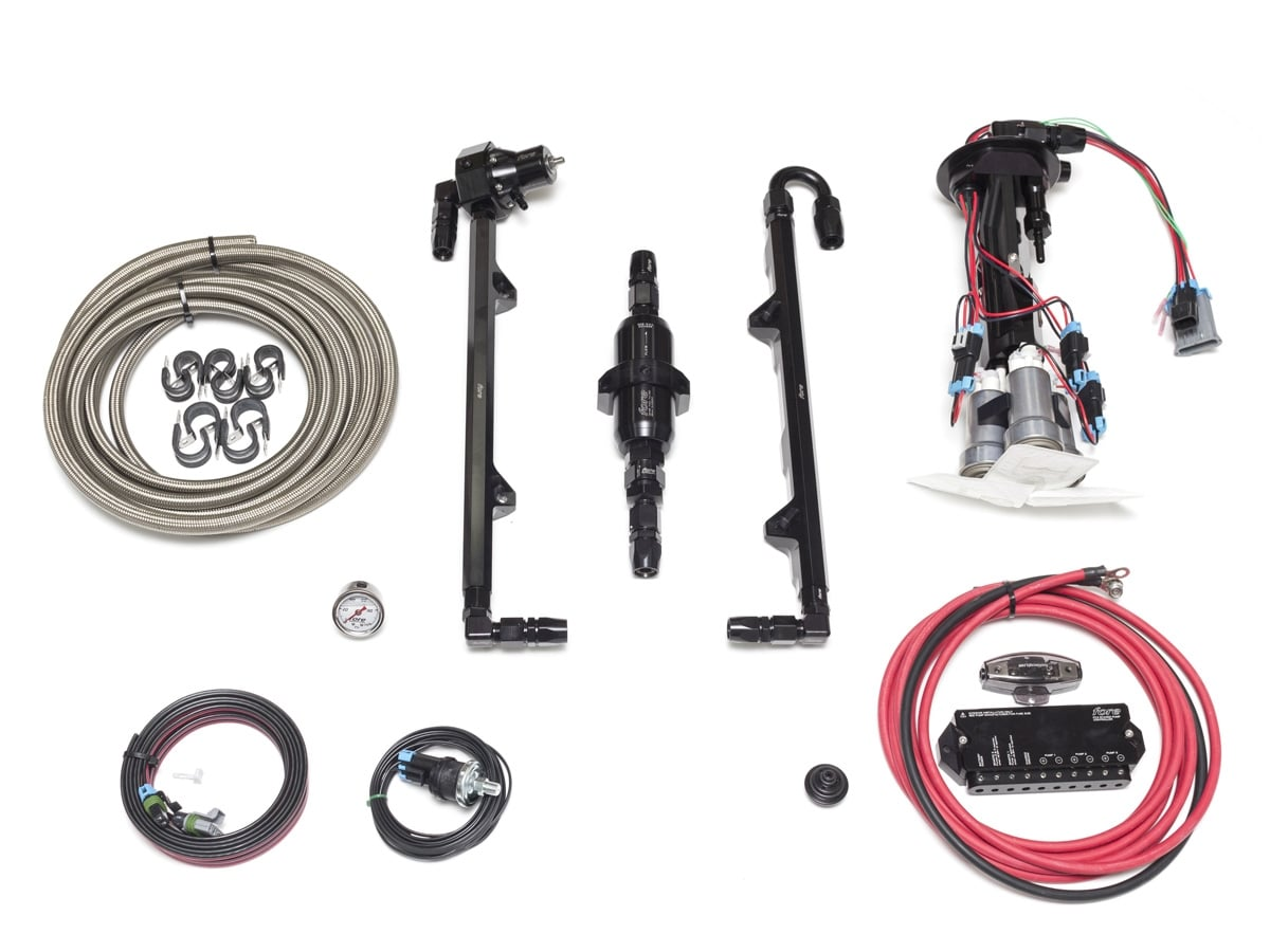 Fore Innovations C5 C6 Corvette Level 2 Return System Triple Pump Transmission Wiring Harness Home Fuel Pumps 2005 2013