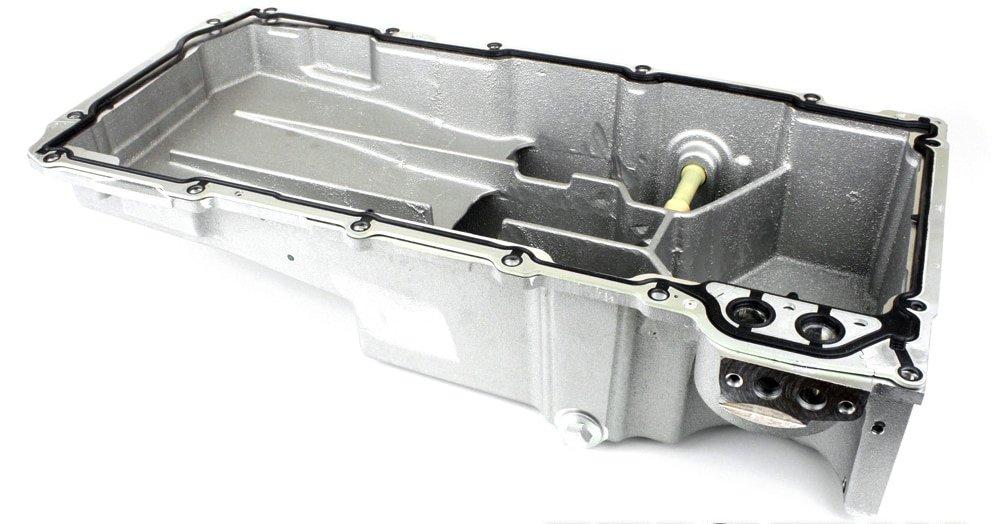 Chevrolet Performance - Complete Oil Pan Swap Kit for LS2 / LS3 C6 Corvette (12624617-KIT ...