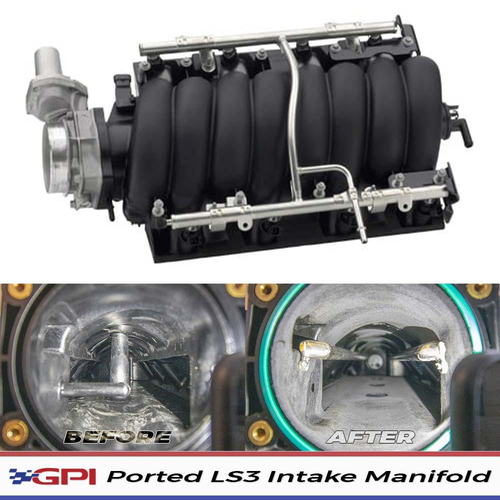 GPI - LS3 Intake Manifold Mod (Radius Rod Mod / Porting)