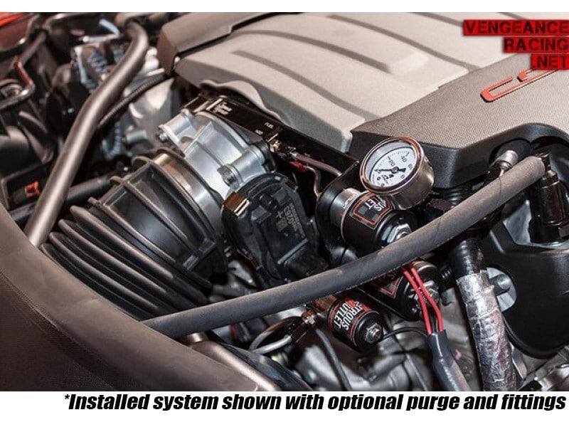 Nitrous Outlet - LT1 C7 Corvette Hard-line Plate System