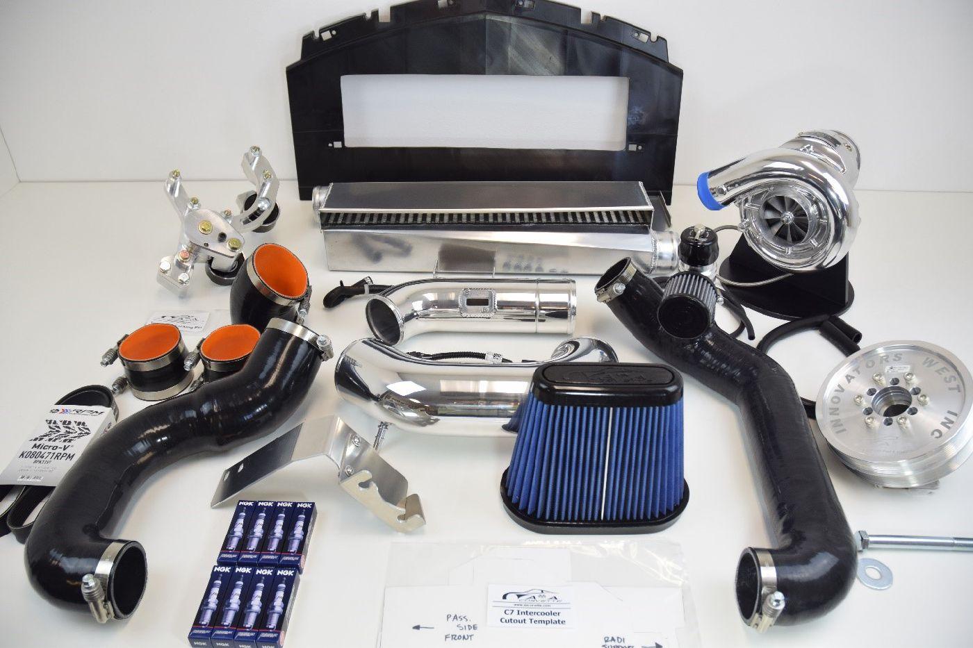 A&A 2014-2017 C7 Corvette Supercharger Kit (AAC7SCKIT-01)