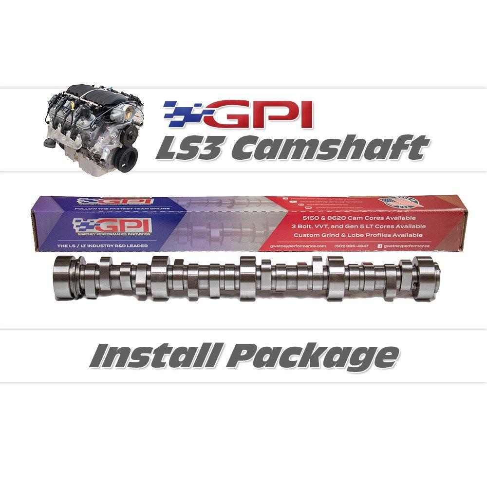 GPI - LS3 Cam Install Package (2010-2015 Chevrolet Camaro SS LS3 / 3 Bolt /  Manual)
