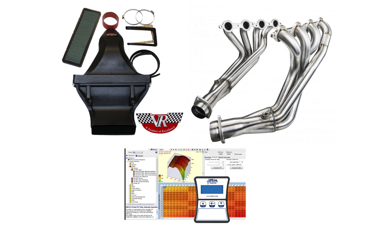 Complete Intake / Exhaust / Tune Package (2005-2013 C6 ...