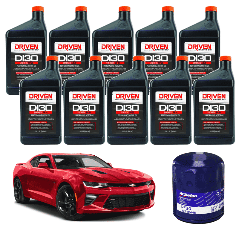 Driven Racing Synthetic Oil Change Kit 2016 2018