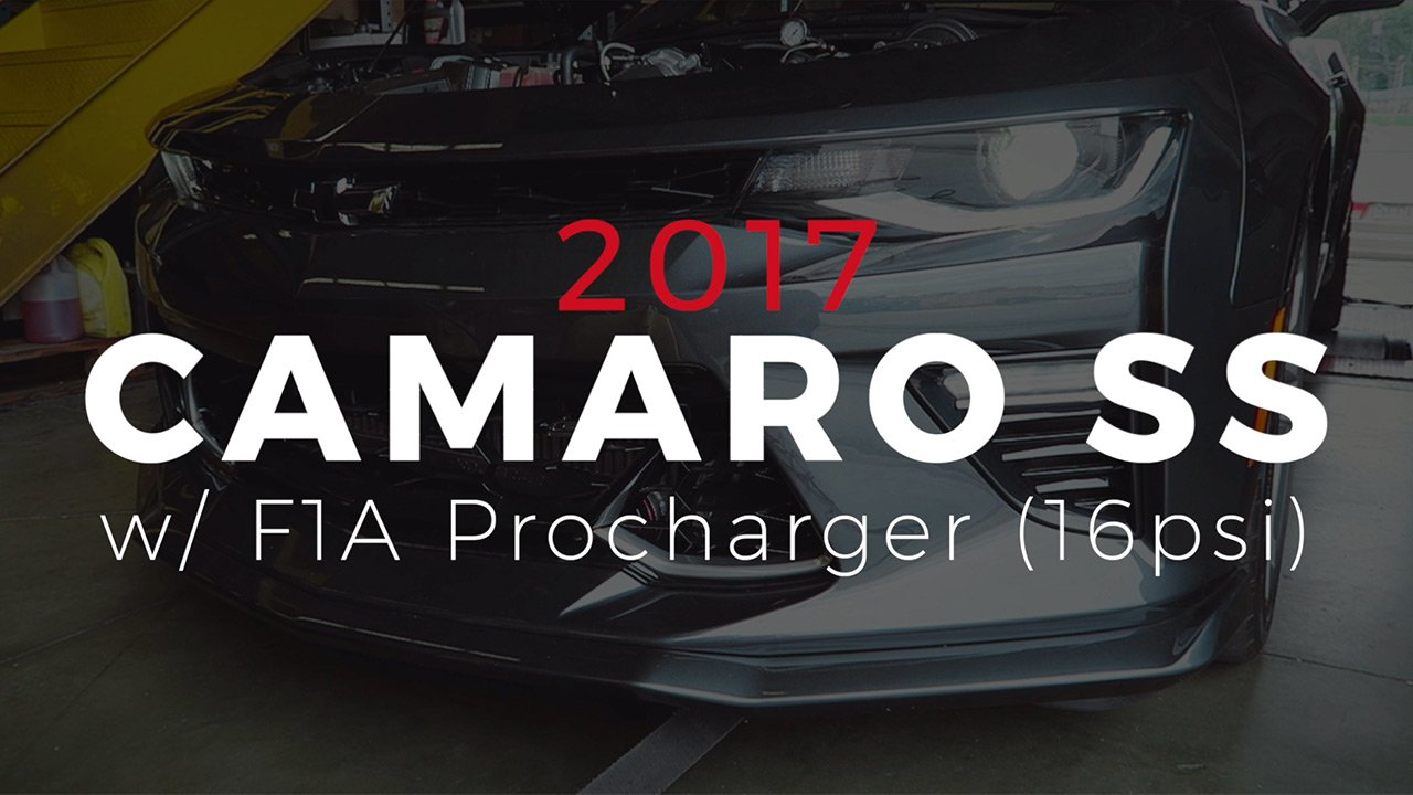 Procharged 2017 Camaro SS makes 860rwhp on dyno! - Gwatney