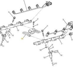holley fuel rail kit for ls3 ls7 534 203 gwatney performance 350 Chevy EFI Kits fuel rails