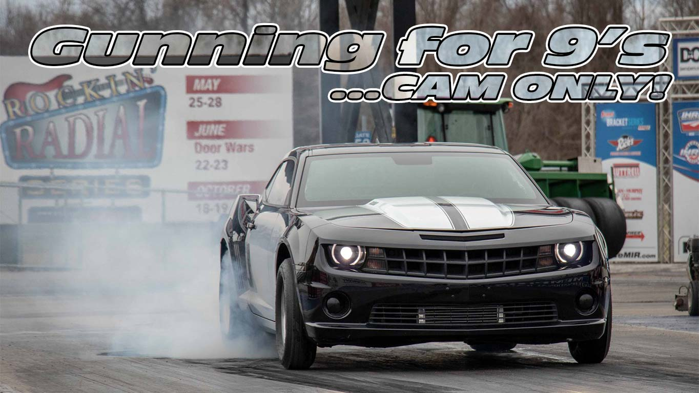 GPI SS4 Cam Only LS3 (Stock Heads) Gunning for 9's!! - Gwatney