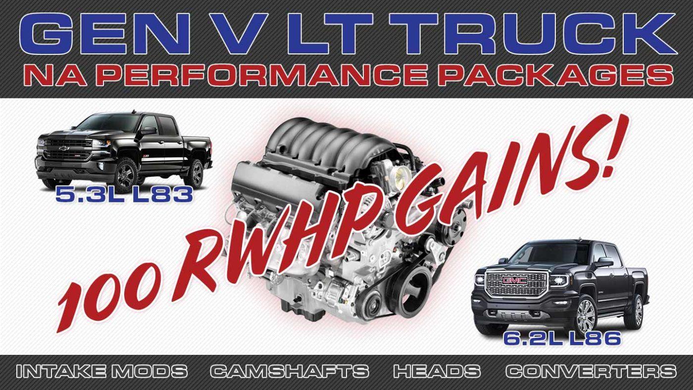 Huge L83 & L86 NA Head & Cam Performance Gains (+100rwhp
