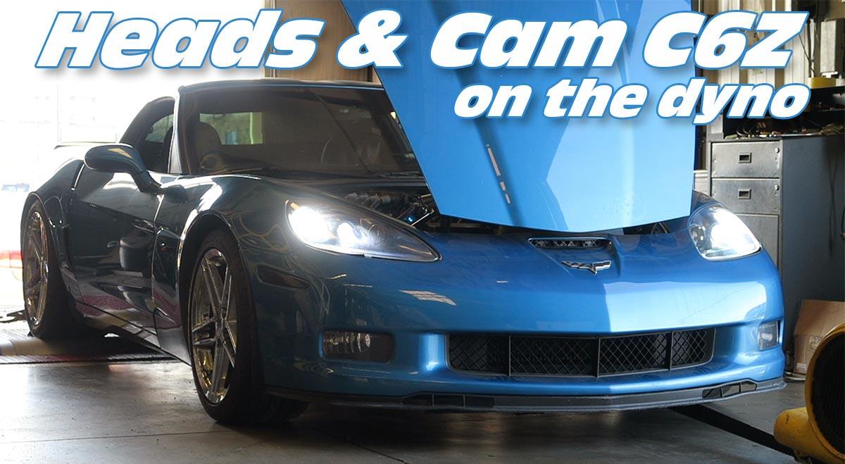 Jeff's Heads & Cam C6 Z06 on the Dyno - Gwatney Performance