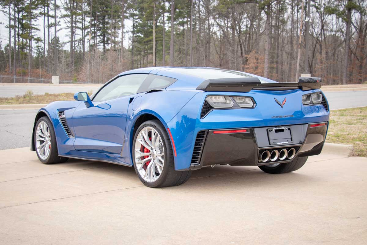 2016 CHEVROLET CORVETTE Z06 2LZ W/ Z07 PERFORMANCE PACKAGE - Gwatney Performance